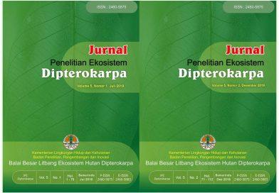 Jurnal Ekosistem Hutan Dipterokarpa Volume 5, TELAH TERBIT!!